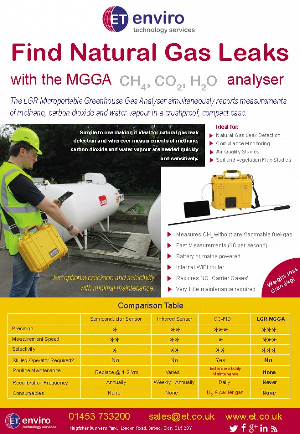 Find Natural Gas Leaks with the LGR MGGA